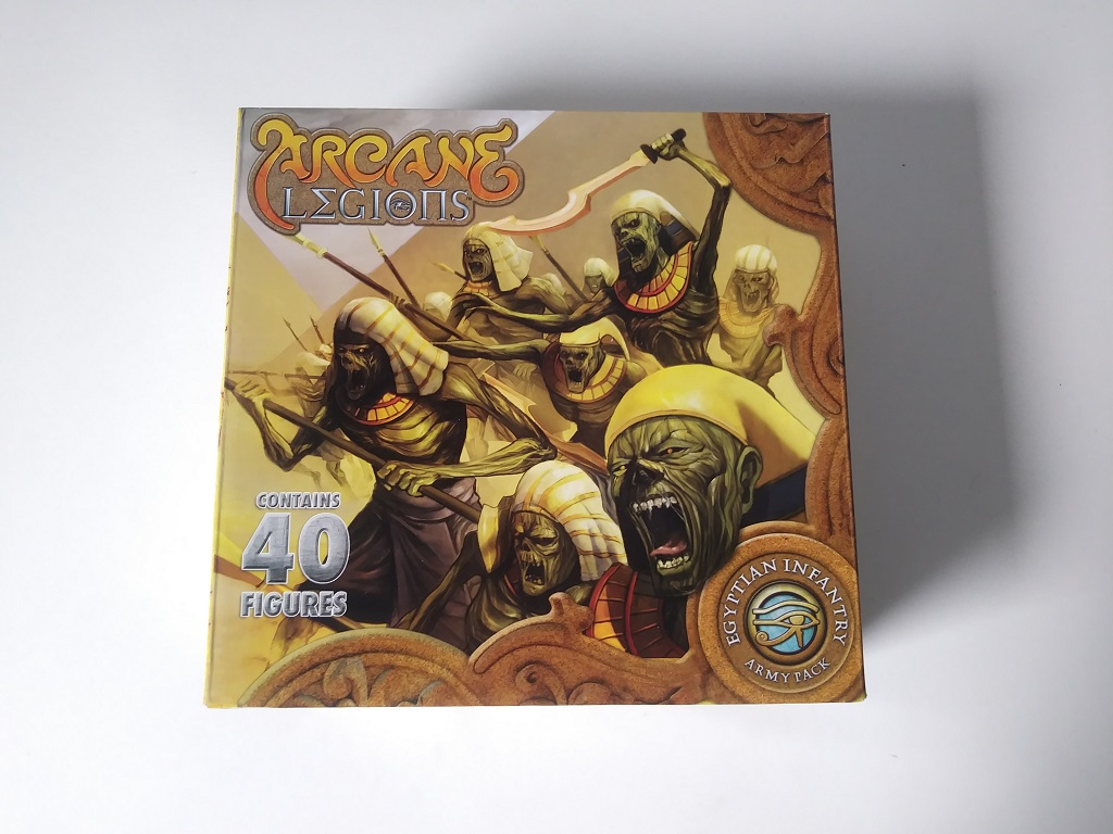 Arcane legions : Egyptian Infantry Army Pack