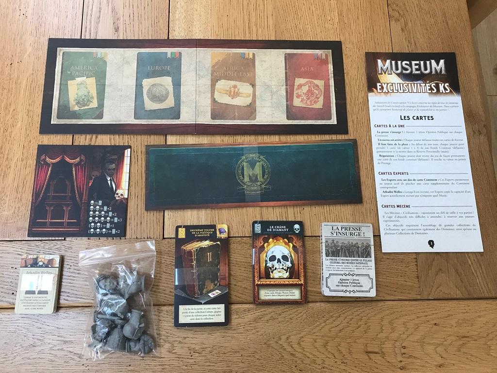 Museum - Bonus de la campagne