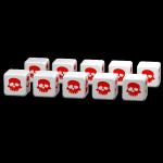 Clash of Rage : Set de 10 dés
