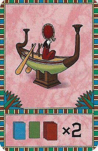 Nefertiti - Carte La Barque Solaire