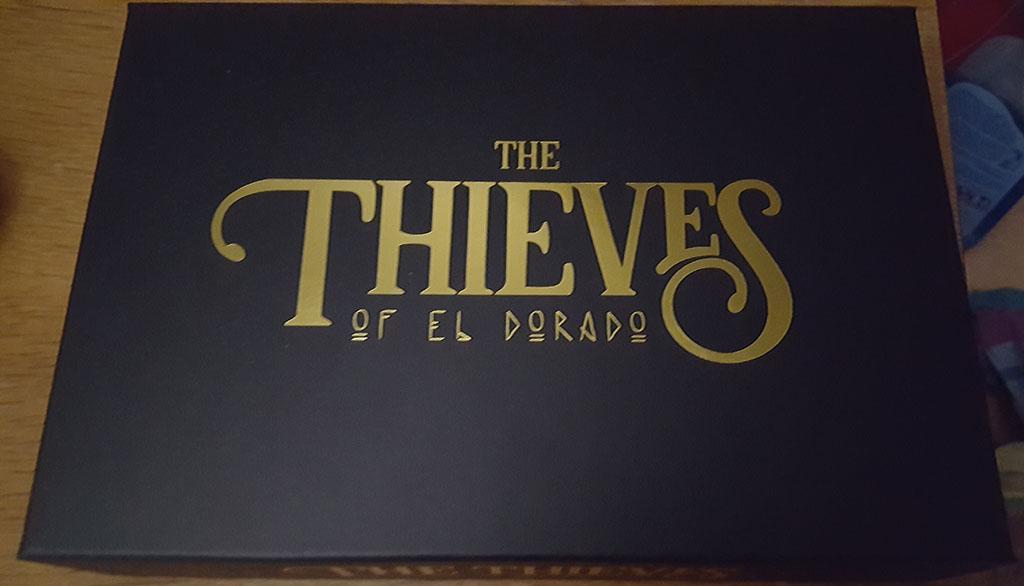 The Island of El Dorado : The thieves of eldorado