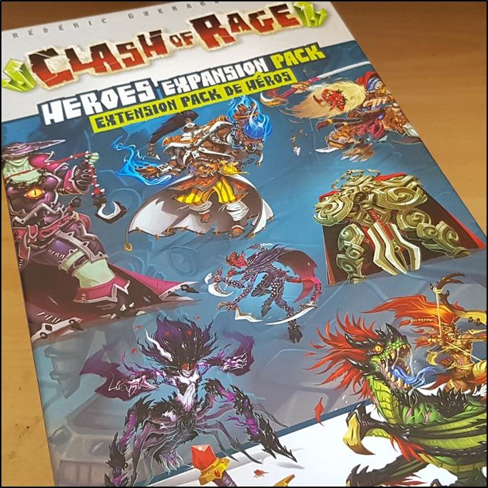 Clash of Rage - Pack de héros