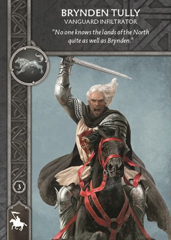 A Song Of Ice And Fire: Tabletop Miniatures - Brynden Tully - Général à cheval