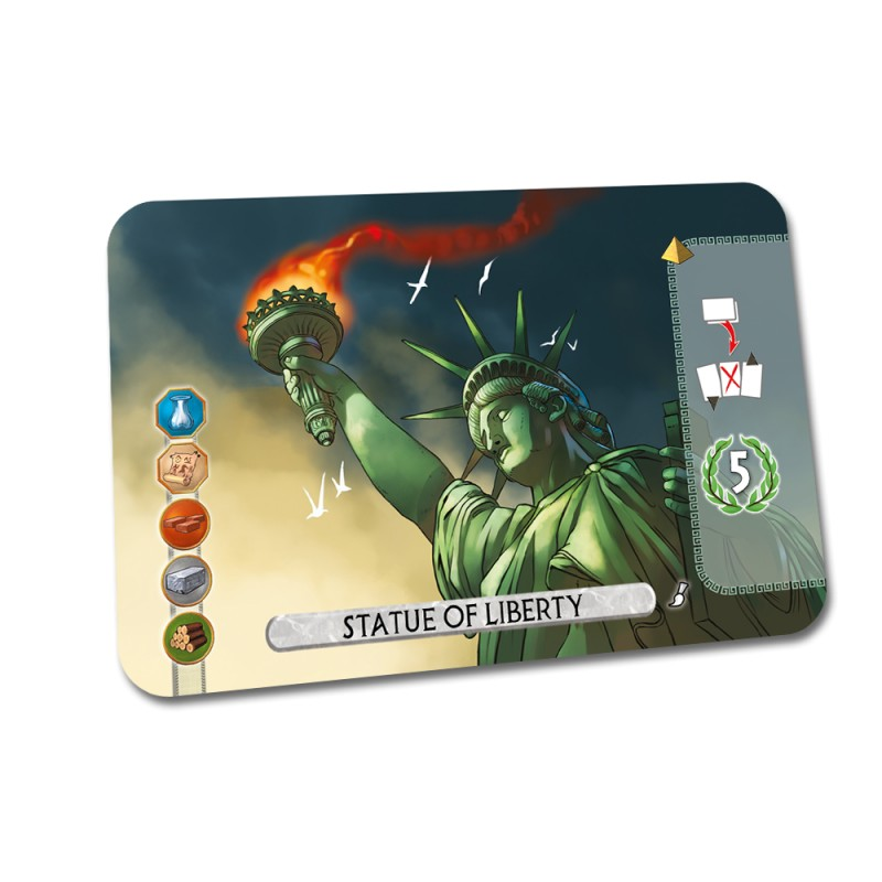 7 Wonders Duel – Statue of Liberty V2