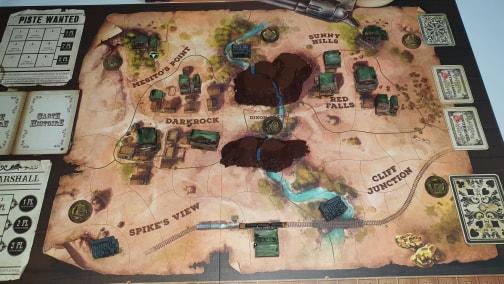 Western Legends - Impression 3D Batiments, Camps, Rocher....