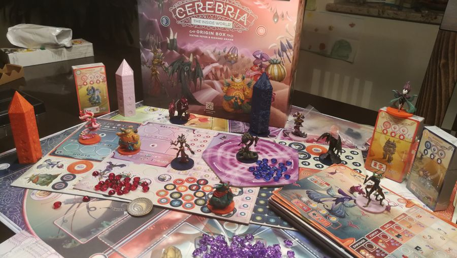 Cerebria - The inside world - KS Origin box + figurines peintes