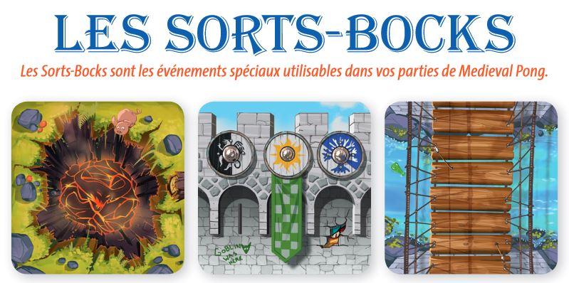 Medieval Pong - Les Sorts-Bocks