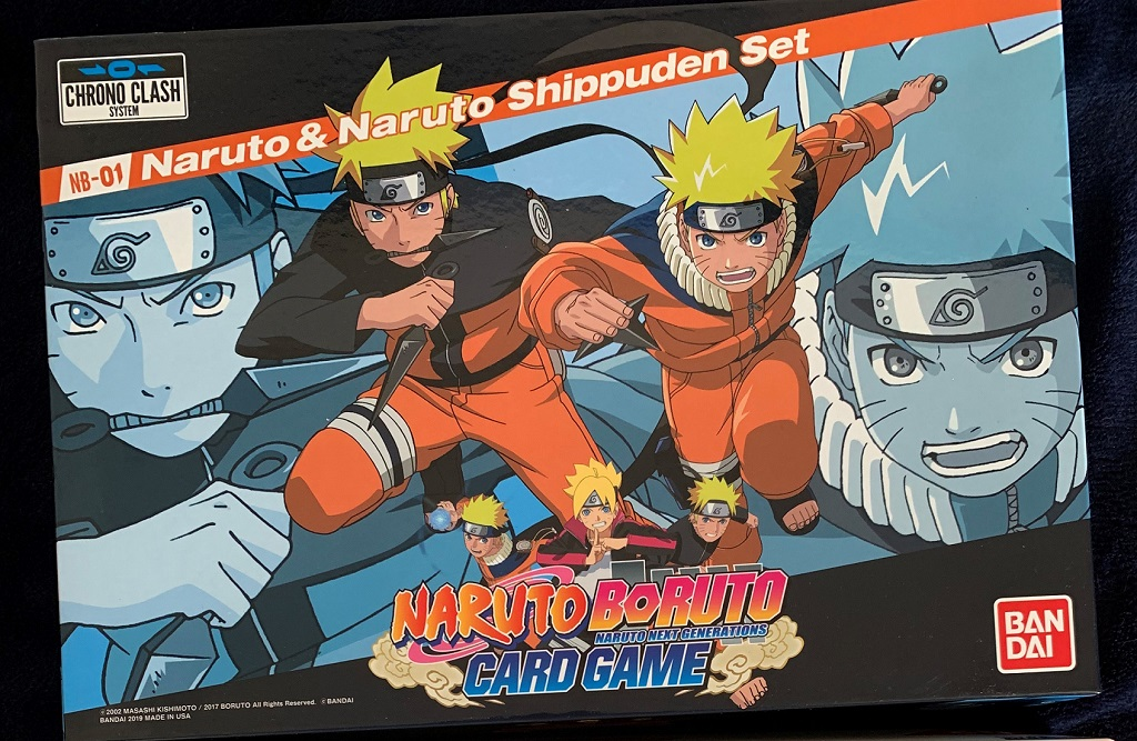 Naruto Card Game Set 1