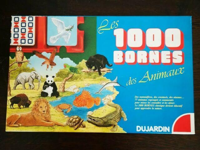 1000 bornes des animaux