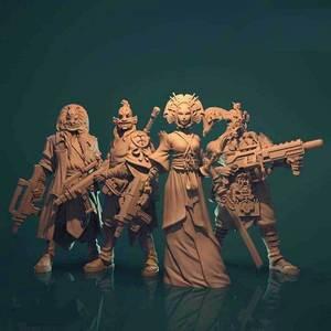 Zombicide Invader kabuki gang