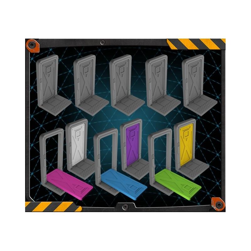 Zombicide Invader : portes 3d