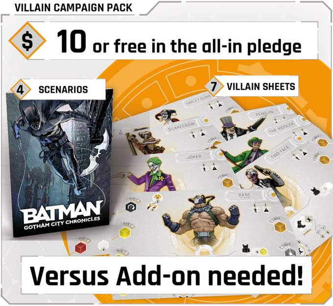 Batman : Gotham City Chronicles - scénarios supplémentaires