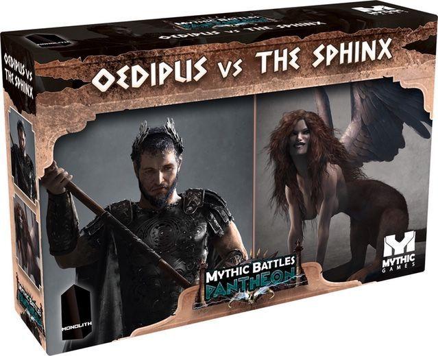 Mythic Battles: Pantheon – Oedipus Vs. the Sphinx