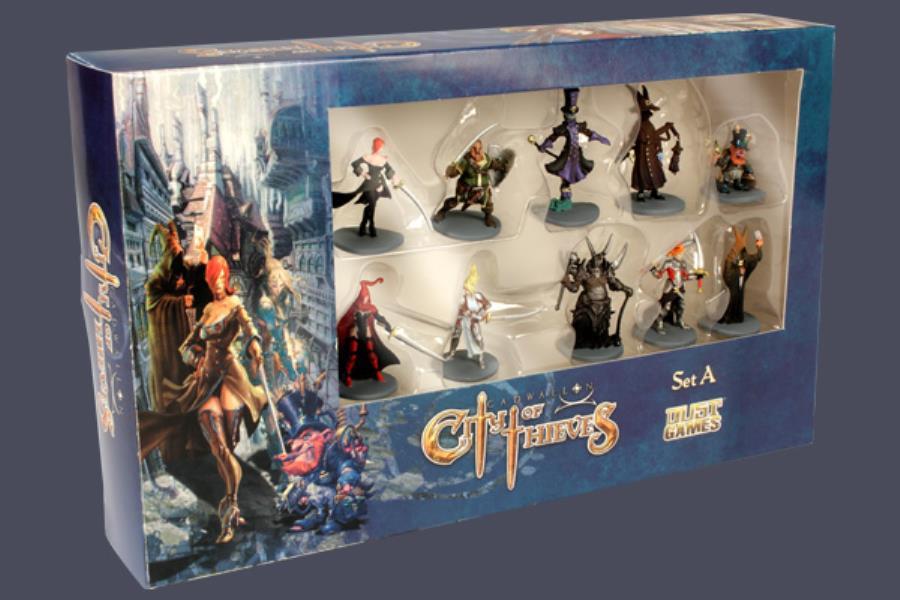 Cadwallon La Cité des Voleurs - Figurines prè-peintes Set A