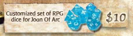 Time of Legends: Joan of Arc - RPG Dice