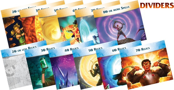 Aeon's End: The New Age - add-on Promo Pack Dividers