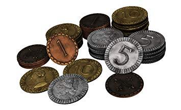 Clans of Caledonia - Metal Coins - Pièces de Monnaie