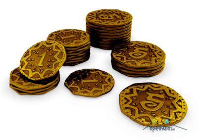 Rise to Nobility - Metal Coins - Pièces de Monnaie