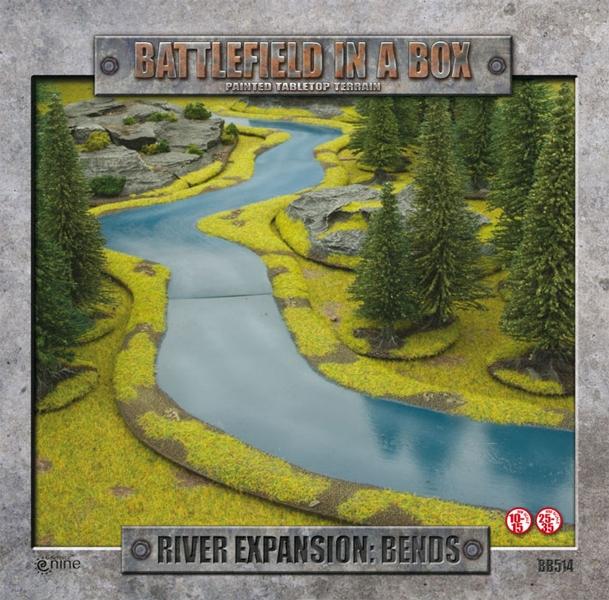 Battlefield in a box - river bend