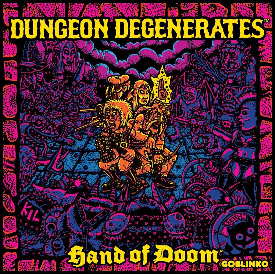 Dungeon Degenerates : Hand of Doom