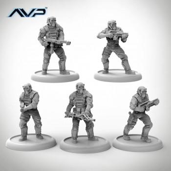 AVP The hunt begins 2nd edition - Avp weyland commando