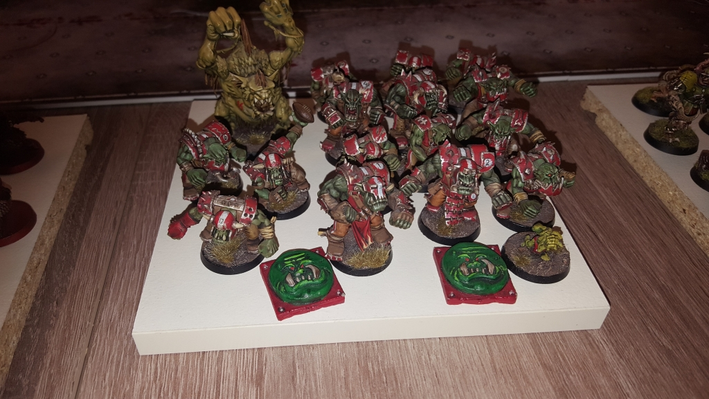Bloodbowl - Equipe d'orques