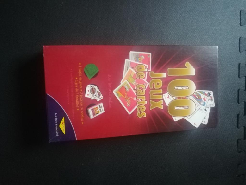 100 jeux de cartes