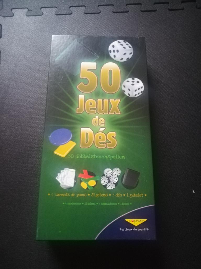 50 jeux de dés