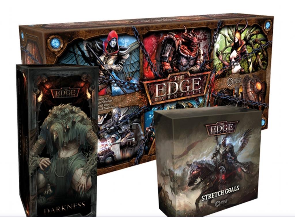 The Edge : Dawnfall 1.6 WARCHEST version Kickstarter VF