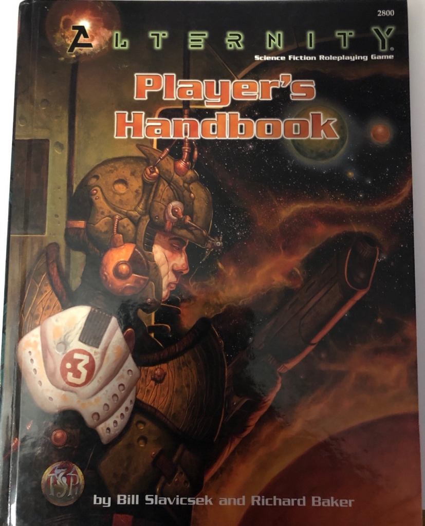 Alternity - Player's handbook