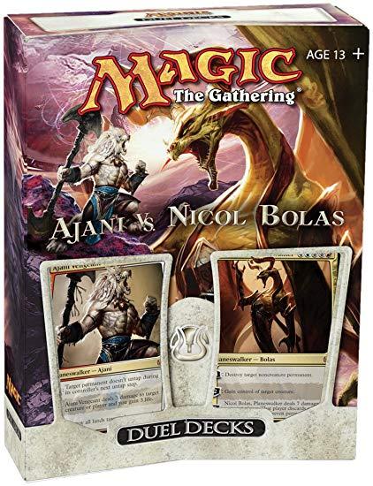 Magic the gathering - duel deck - ajani vs nicol bolas