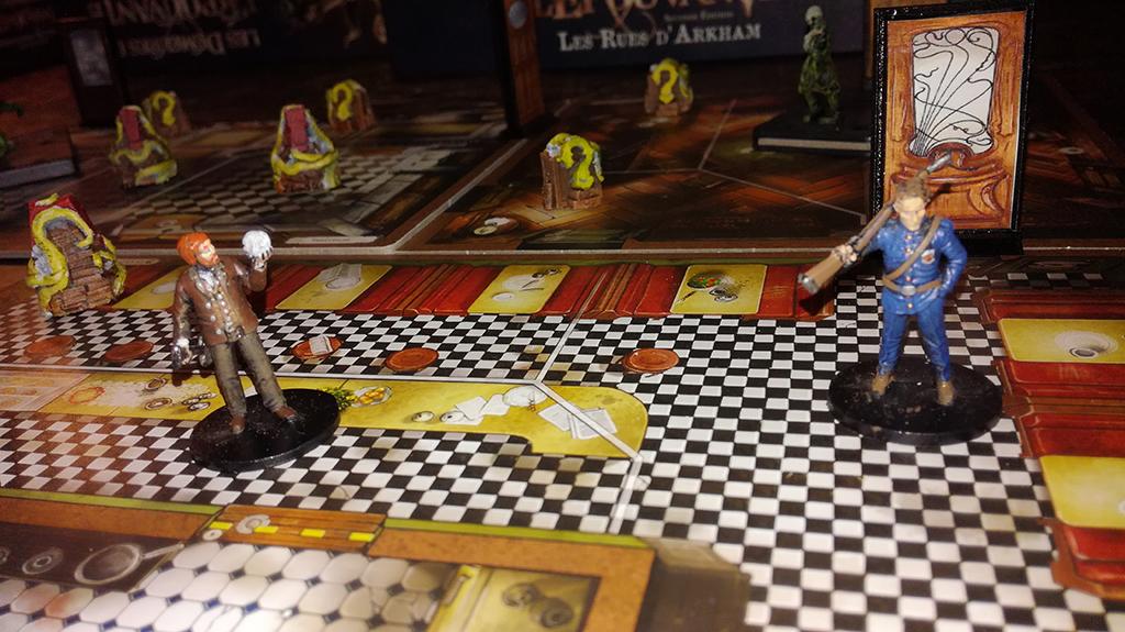 Les Demeures de l'épouvante (seconde édition) - Pions 3D de fouille et de rencontre
