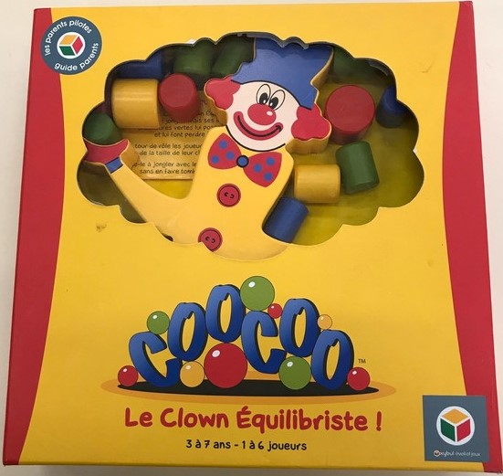 Coocoo - Le clown équilibriste