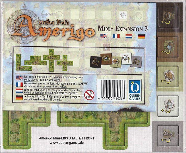 Amerigo - Queenie 3 - batiments de productions spécieux et tokens