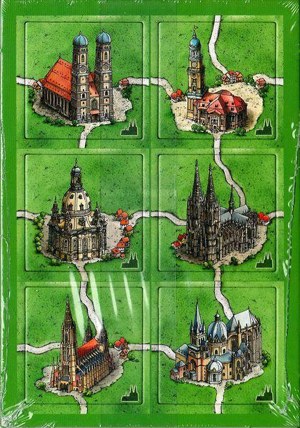 Carcassonne - Kathedralen in Deutschland (Les cathédrales d'Allemagne)