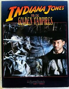 The World of Indiana Jones - Indiana Jones and the golden vampires
