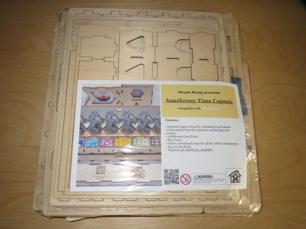 Anachrony Time Capsule - Insert Meeple Realty