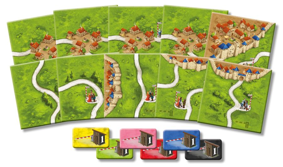 Carcassonne : The Tollkeepers (Les péages)