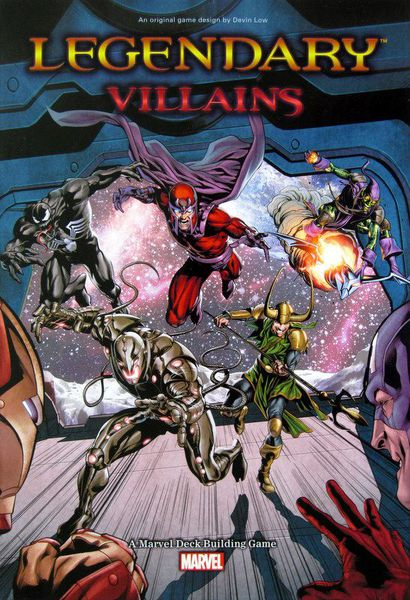 Legendary : Marvel Deck Building - villains