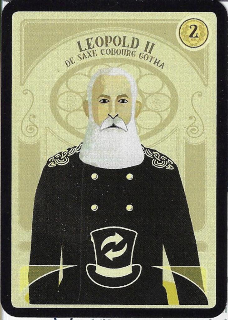 Bruxelles 1897 - Leopold II