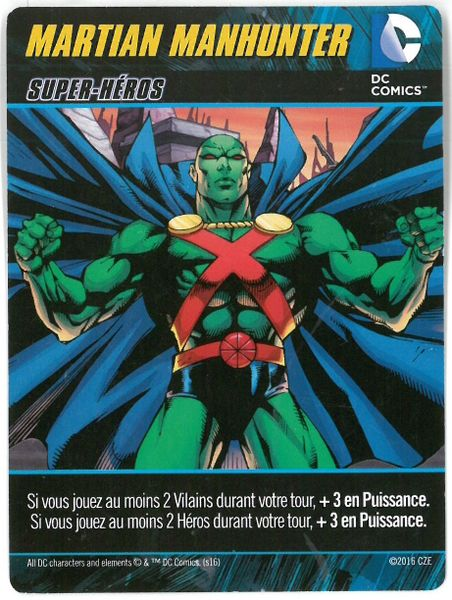 Dc Comics Deck-building Game - Martian Manhunter
