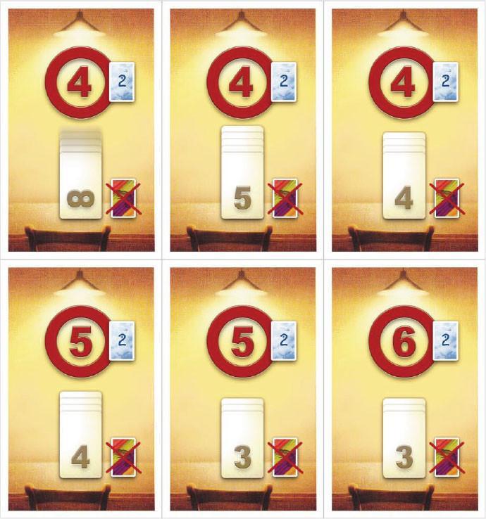Coloretto - limit cards