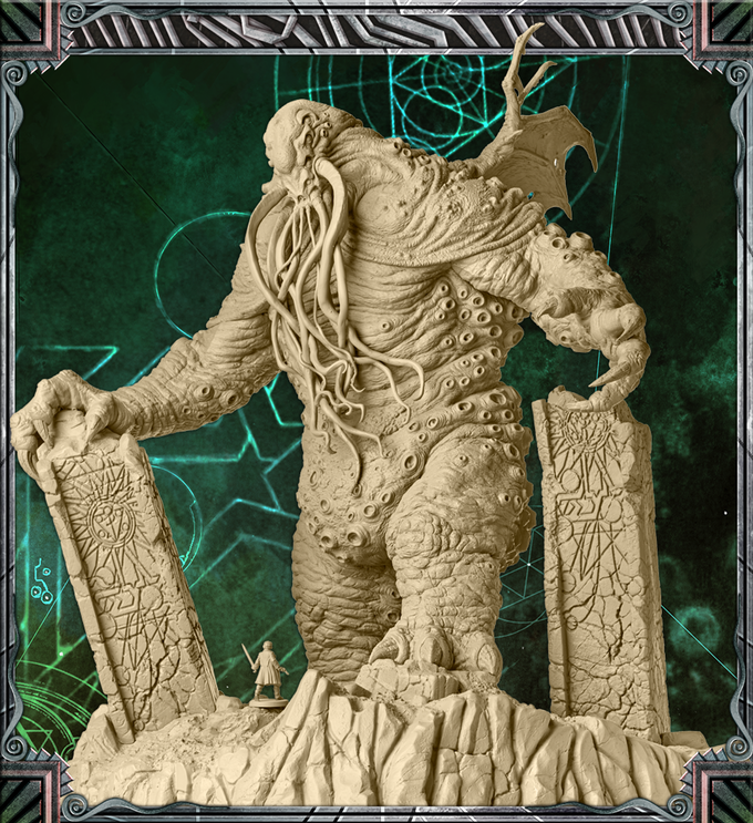 Cthulhu : Death may die - R 'lyeh Rising-Giant cuthulhu Extension