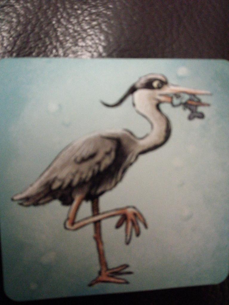 Crôa! - Heron