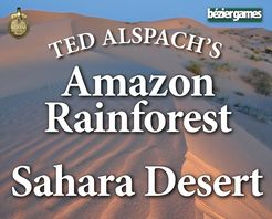 Age of Steam - Amazon Rainforest & Sahara Desert