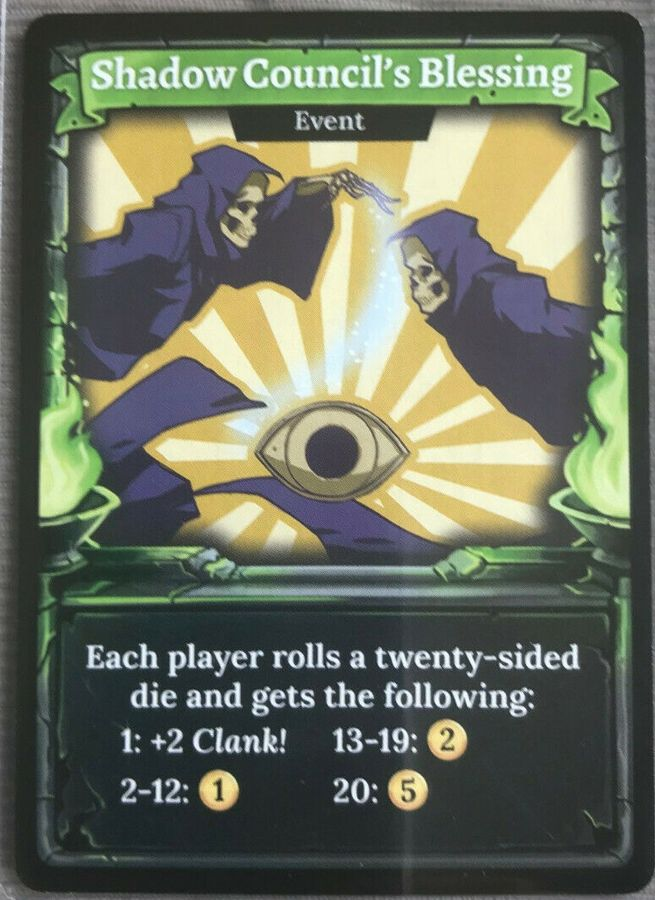 Clank! Legacy: Acquisitions Incorporated - Shadow Council's Blessing