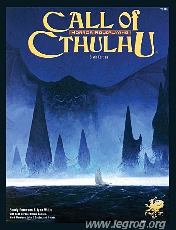 Call Of Cthulhu - 6th edition