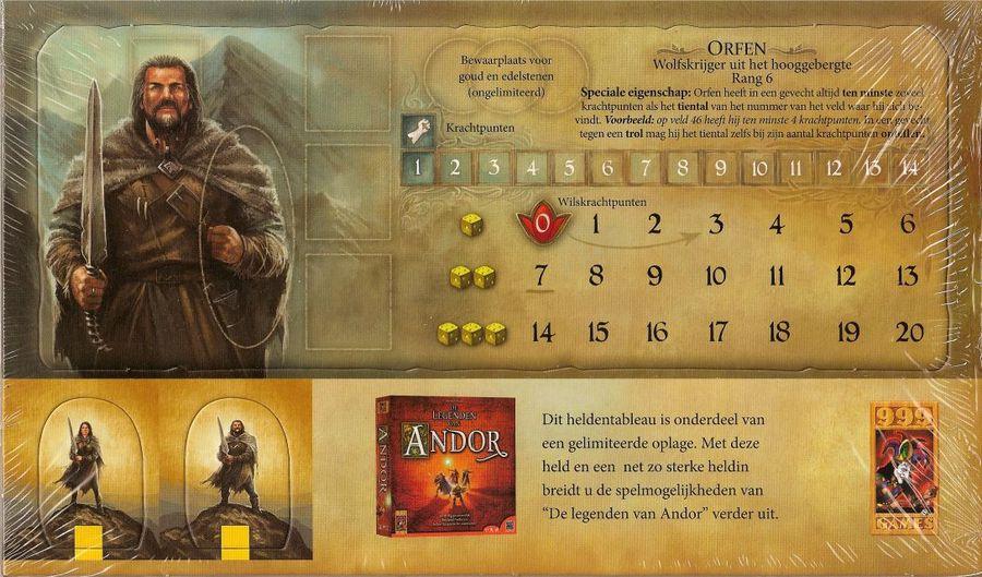 Andor - Nouveaux héros - Marfa et Orfen