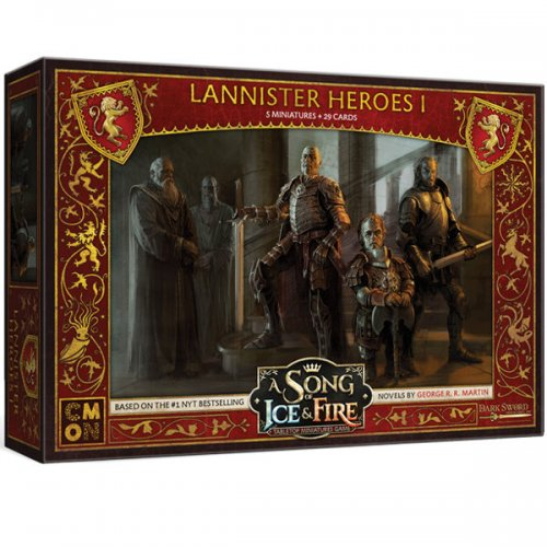 A Song of Ice & Fire: Tabletop Miniatures Game - Lannister heroes 1