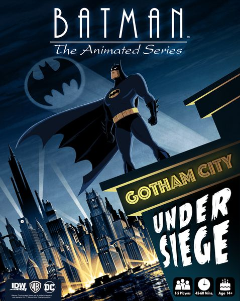 Batman : The animated series Gotham under siege